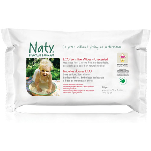 Nature Babycare Eco Unscented Wipes