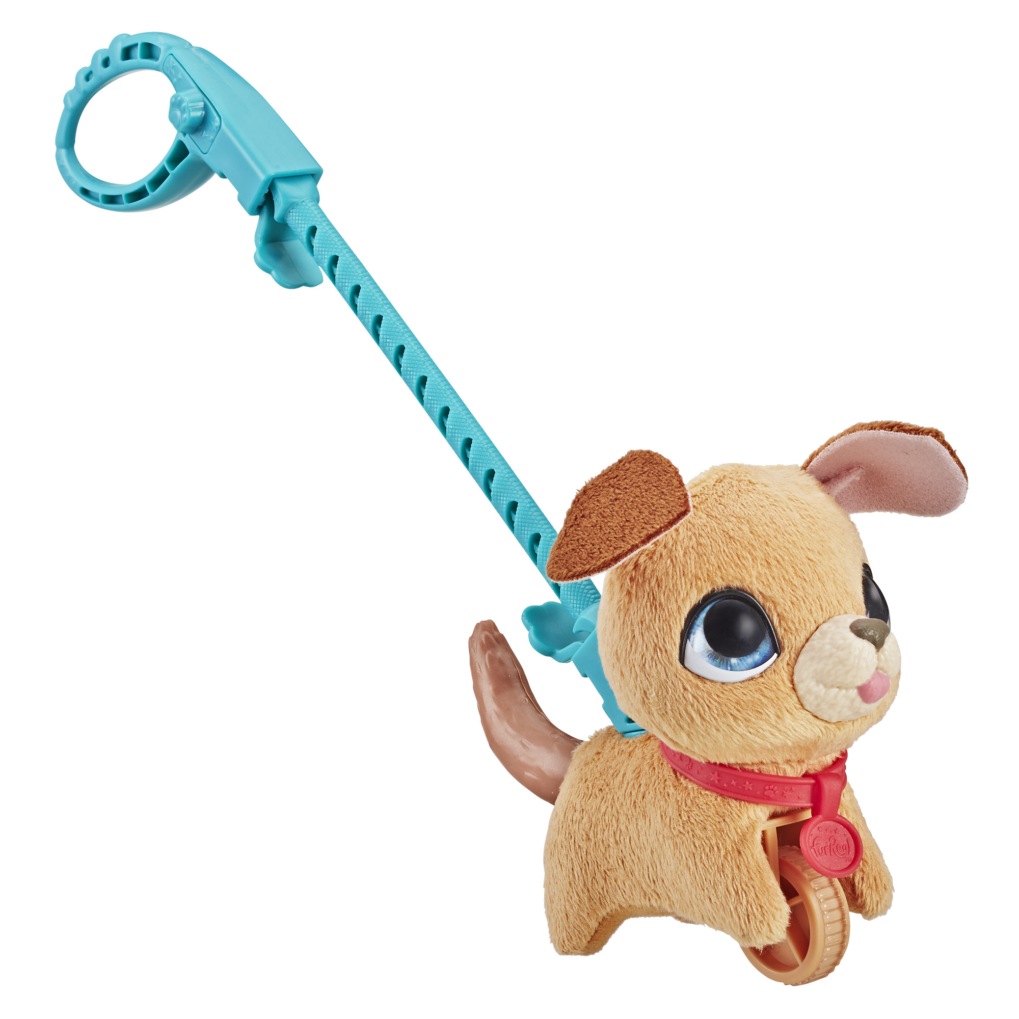 furReal Walkalots Lil' Wags, Light Brown Puppy, Ages 4 and up