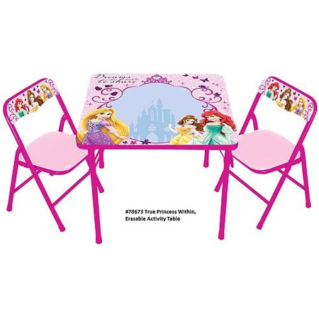 Disney Princess The True Princess Within Erasable Activity Table Set ...