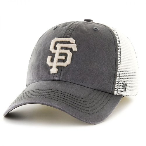 47 Brand San Francisco Giants MLB Rockford Mesh Baseball Cap SIZE: ONE SIZE FITS MOST