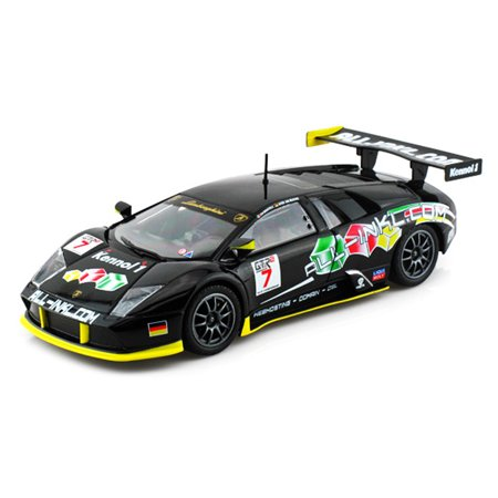 Lamborghini Murcielago Gt Race Car 7 Black Bburago 28001 1 24
