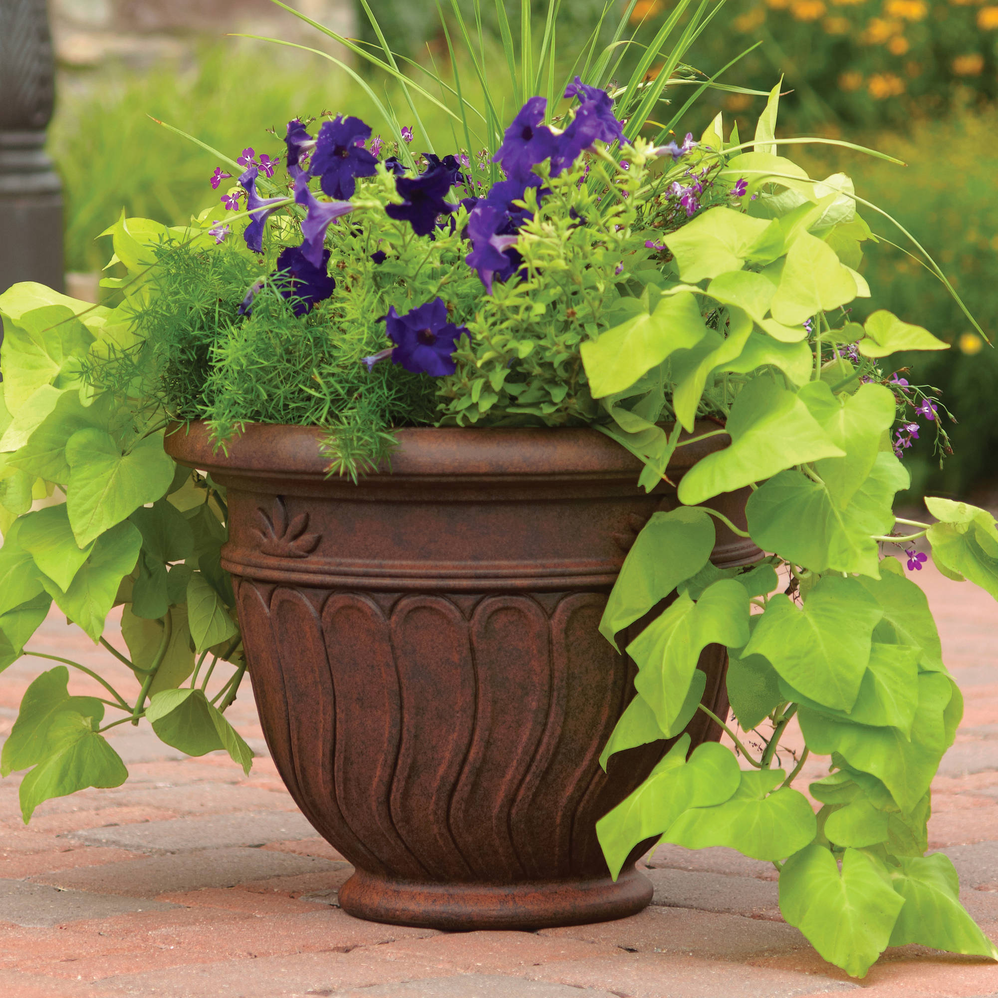 Better Homes and Gardens Romano Planter Multiple Sizes Walmartcom
