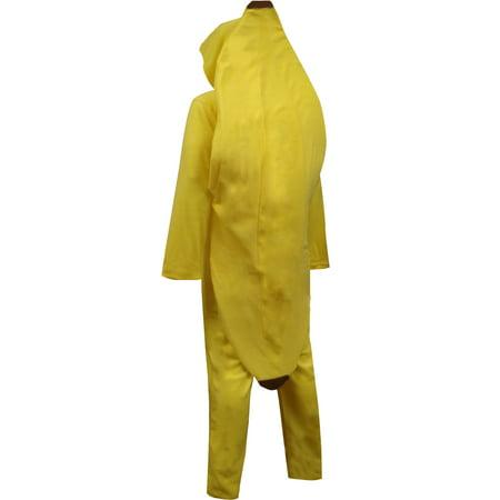 11e5e25e1d29 Bioworld - Big Yellow Banana Hooded Onesie Pajama - Walmart.com