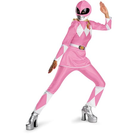 Pink Ranger Adult Halloween Costume](Adult Pink Ranger Costume)