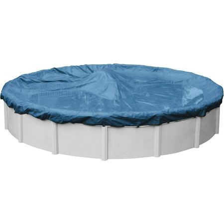 Robelle 10-Year Heavy-Duty Round Winter Pool (Silver Winter Round Pool Cover)