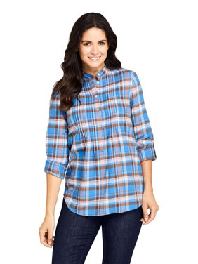Lands' End Women's Flannel Tunic