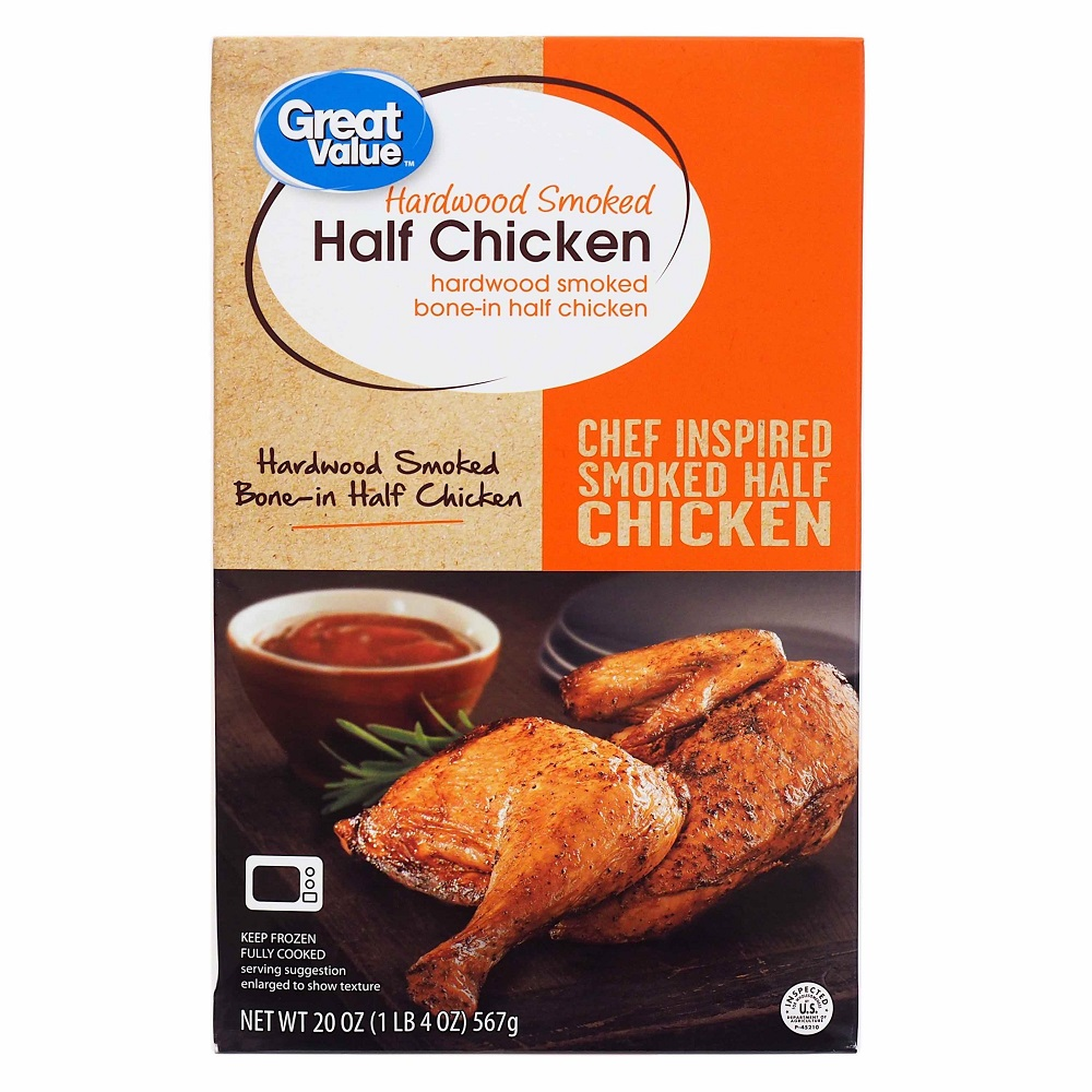 Great Value Hardwood Smoked Half Chicken, 20 oz