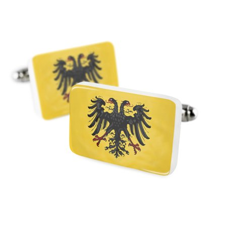 Cufflinks The Holy Roman Empire  After 1400  Flagporcelain Ceramic Neonblond