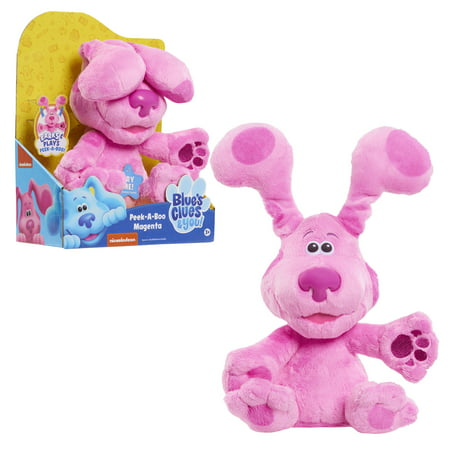 Blue's Clues & You! Peek-A-Boo Magenta, 10-inch feature plush, Ages 3 +