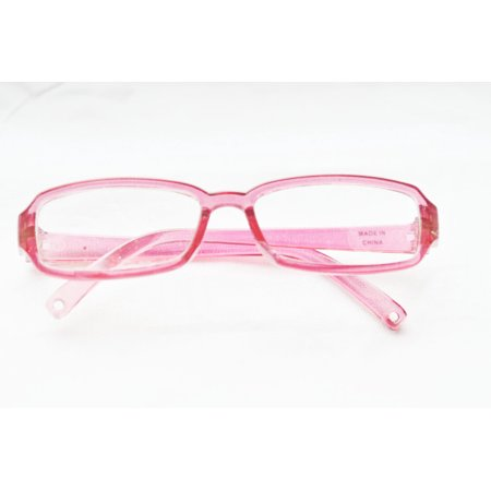 Oval Glass Doll - My Brittany's Modern Pink Glasses for American Girl Dolls- My Life as Dolls- Our Generation Dolls= 18 Inch Doll Glasses