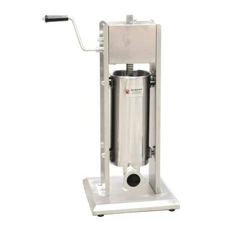 Omcan Manual Vertical Sausage Stuffer, 11-lb Capacity (24199)