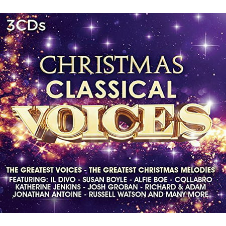 Christmas Classical Voices / Various (CD) ()
