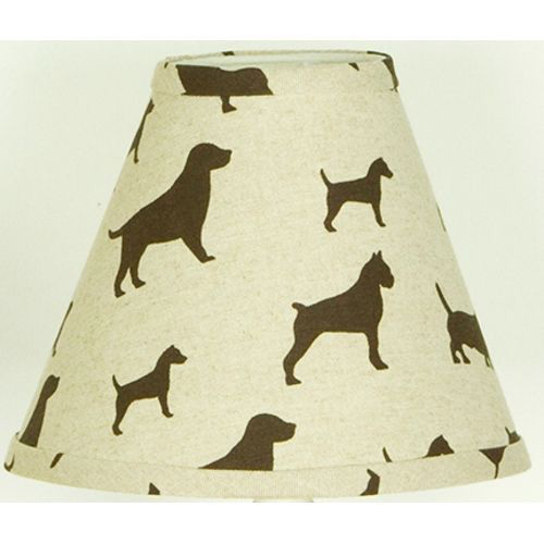 Cotton Tale 9'' Houndstooth Fabric Empire Lamp Shade
