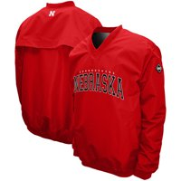 Nebraska Cornhuskers Members Windshield Pullover - Scarlet