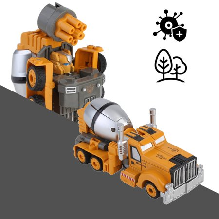 a0bef8e4d30 Kids Transforming Robot Vehicle Car Mixer Toys Transformation Toys Anime  Action Figure Class Toy Children