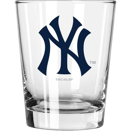 New York Yankees 15oz. Double Old Fashioned Glass - No Size