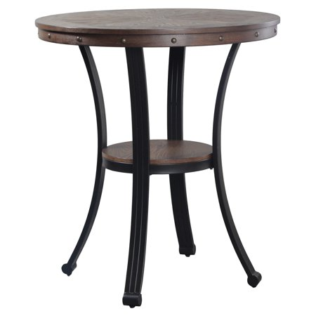 Powell Franklin Pub Table Dark Brown