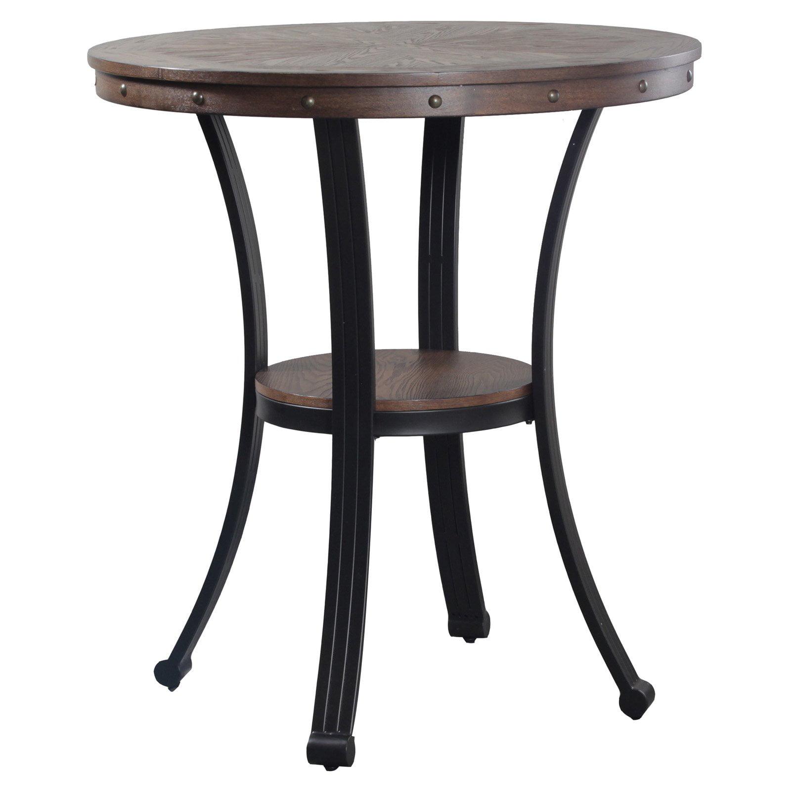 Powell Franklin Pub Table, Dark Brown