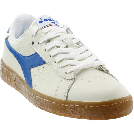 Diadora Mens Game Leather Low  Casual   - White -