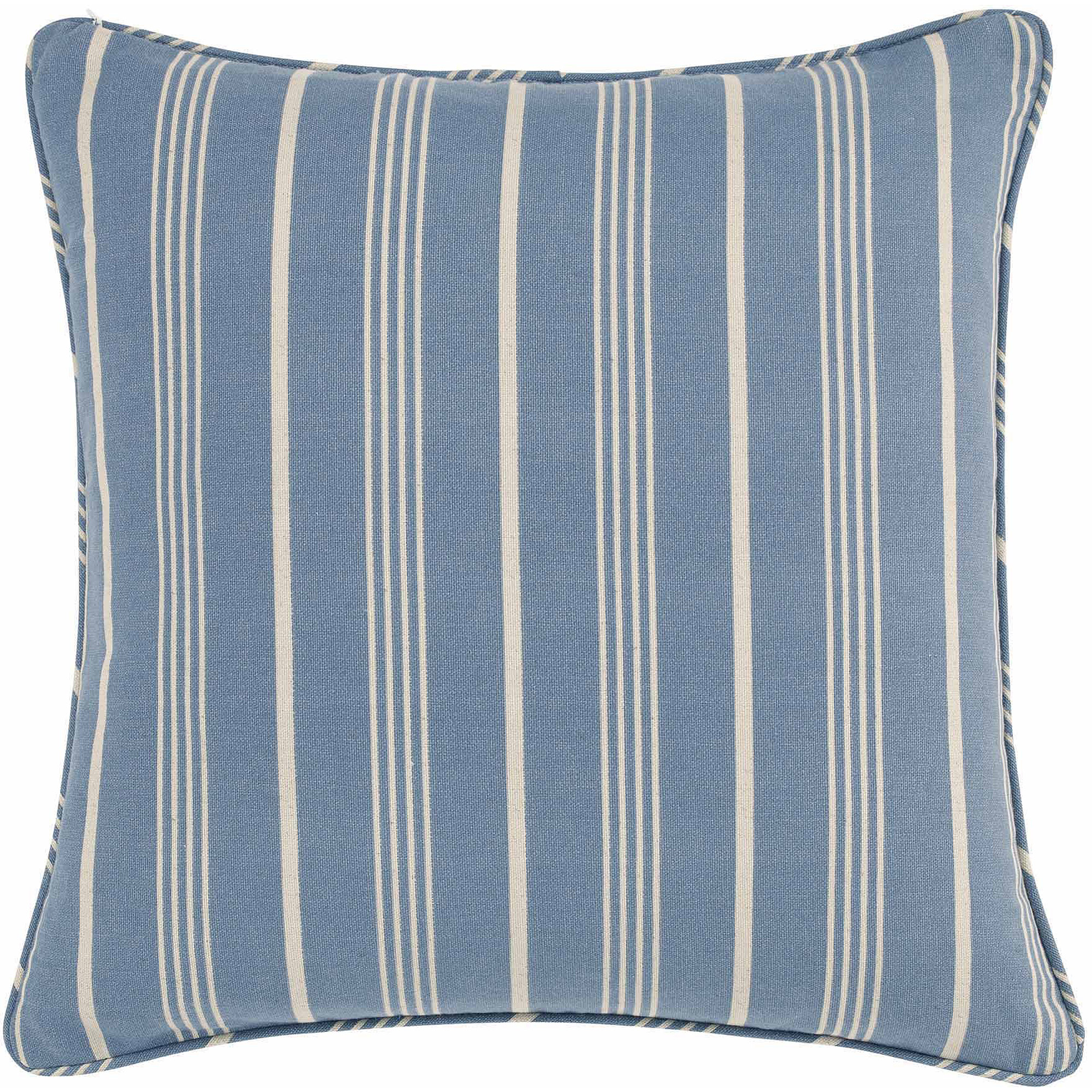 Sure Fit Grain Sack Stripe Pillow Cover