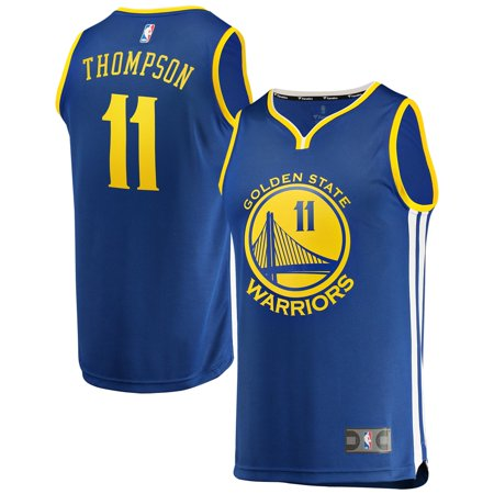Klay Thompson Golden State Warriors Fanatics Branded Youth Fast Break Replica Jersey Royal - Icon Edition