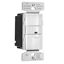 Eaton OS10D7-V Occupancy sensor & dimmer with LED singlepole/3-way preset, Ivory