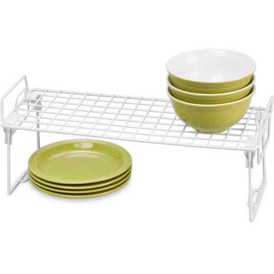 Honey Can Do Stackable Kitchen Shelving Organizer Rack, 18