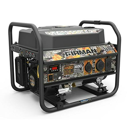 Firman P03609 4550/3650 Watt Gas Recoil Start Generator, cETL (Camo) ()