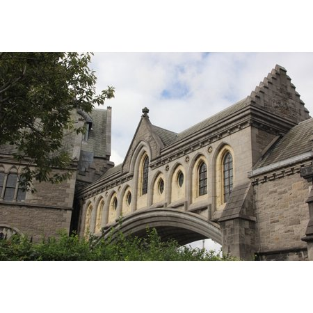 Peel-n-Stick Poster of Ireland Dublin Sacred Christchurch Cathedral Poster  24x16 Adhesive Sticker Poster Print