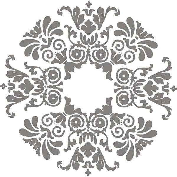 A - Street Prints Symetrie Tetra Quatrefoil Wallpaper