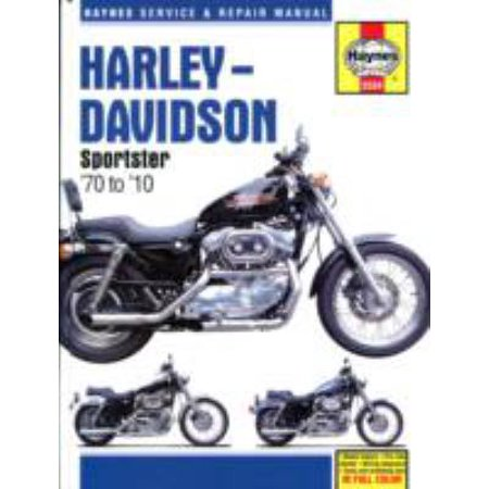 Harley-Davidson Sportster 70 to 10: Models Covered XL, XLH, XLCH 883 Hugger, Sportster, Deluxe, Custom, Low, Roadster, 1970 to 1971, 1986 to 2010, XL, XLX-61 XLH, XLCH, XLS 1000 Sportste