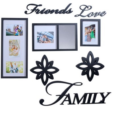 Melannco Friends Love Family 8-Piece Decorator Set