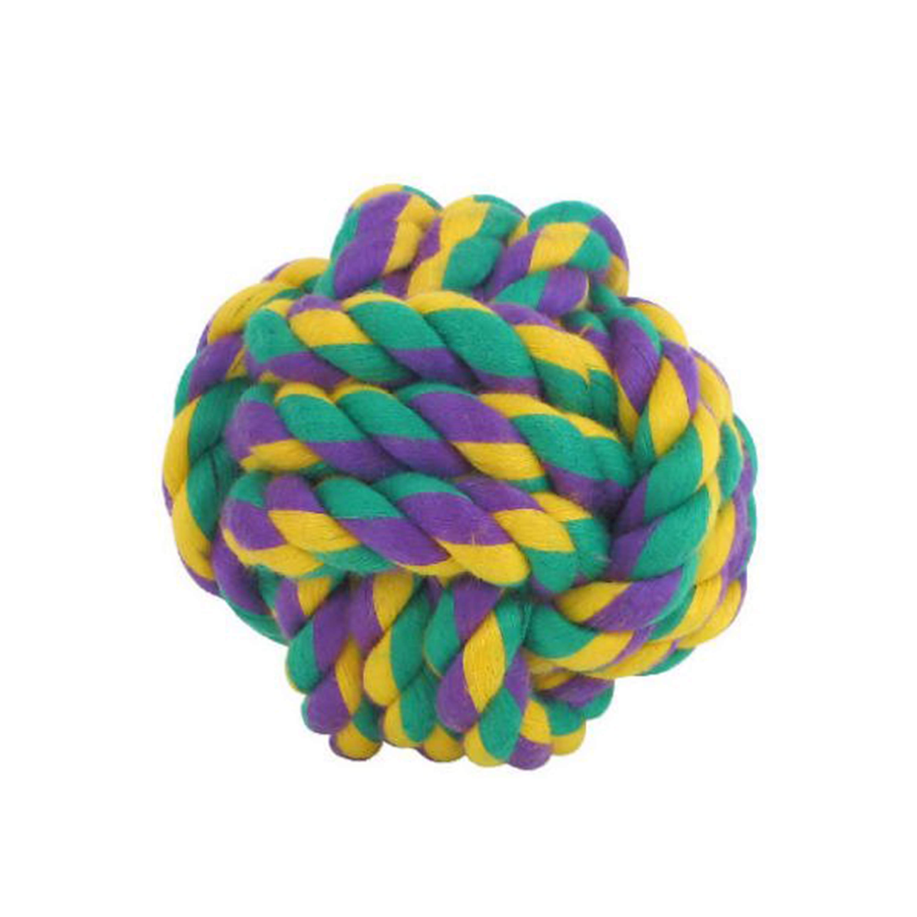 NUTS for KNOTS w/TUG -ROPE DOG TOY