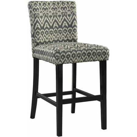 Linon Home Decor Morocco Counter Height Stool, 24 inch seat height, Multiple Colors