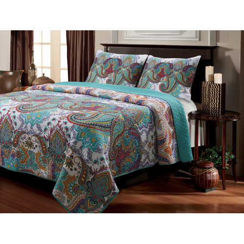 Greenland Home Fashions Nirvana Quilt Set