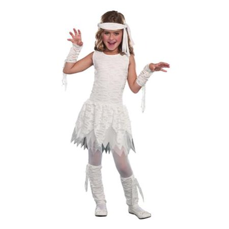 Mummy Kids Costume - Wrap It Up! Mummy Child Costume Large