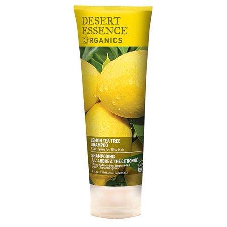 Desert Essence Shampoo For Oily Hair, Lemon Tea Tree, 8 Fl (Best Tea Tree Oil Shampoos)