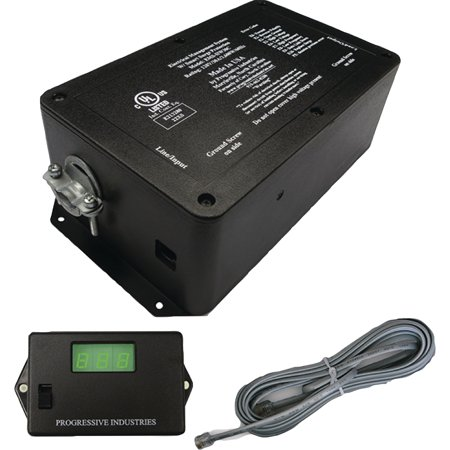 Progressive Industries EMSHW30C 30A 120V Hardwired RV Surge & Electrical Protector with Remote Display ()