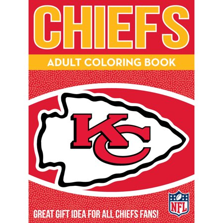 In the Sports Zone NFL Adult Coloring Book, Kansas City