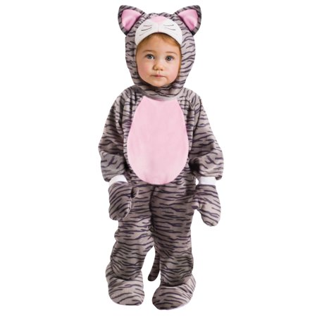 Little Striped Kitten Costume - Baby Cat Halloween Costume  3T-4T