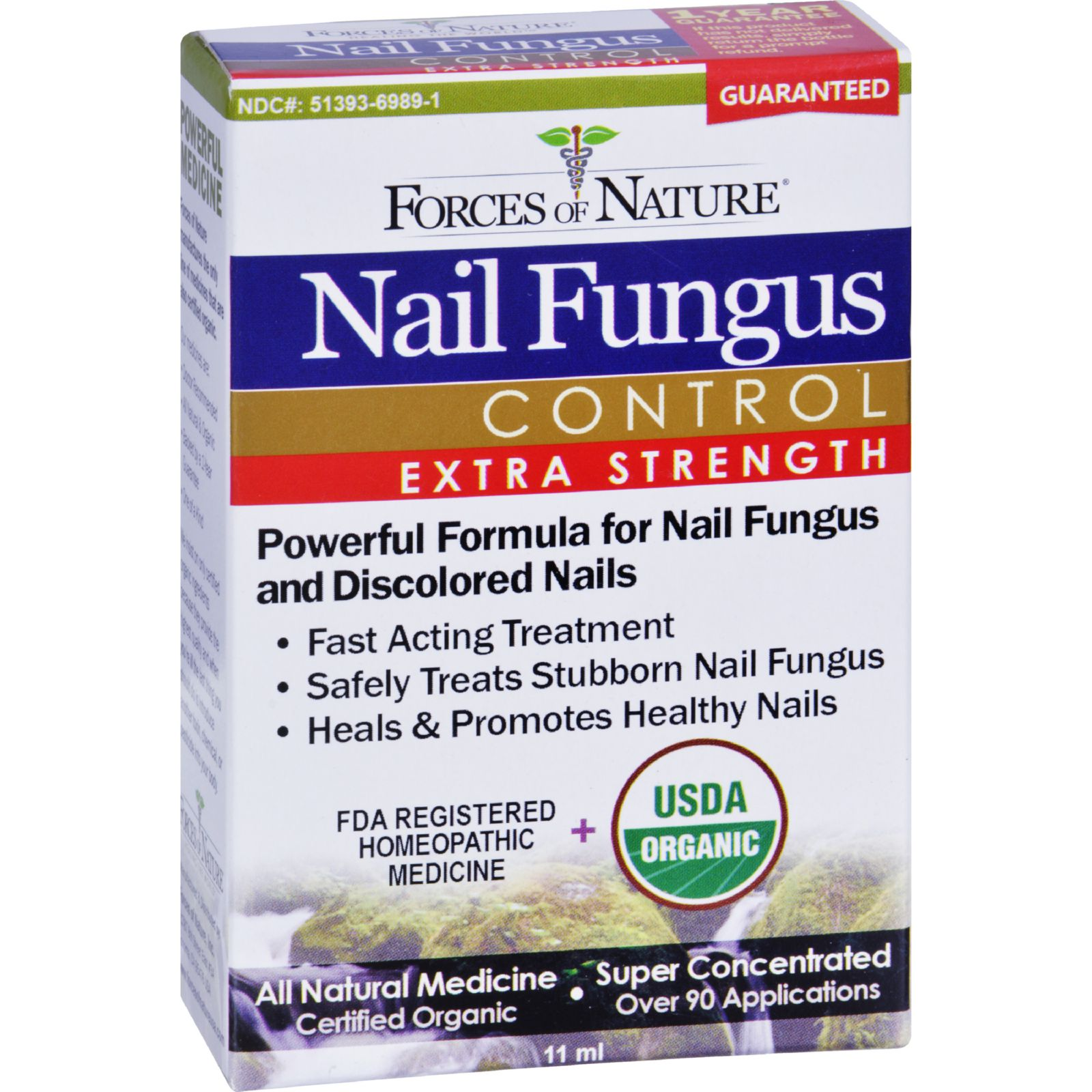 forces of nature organic nail fungus control   extra