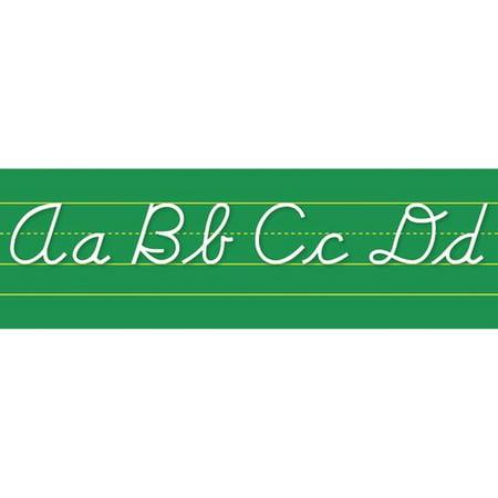 Northstar Teacher Resource Alphabet Lines Contemporary Cursive Bulletin Board Cut Out (Alphabet Cut Outs)