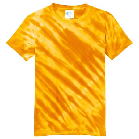 Port & Company Youth Essential Tiger Stripe Tie-Dye T-Shirt