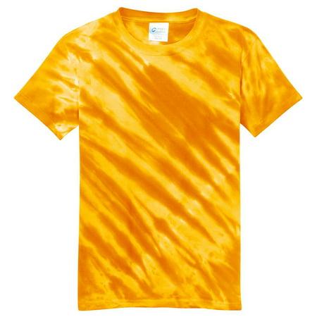 Port & Company Youth Essential Tiger Stripe Tie-Dye -