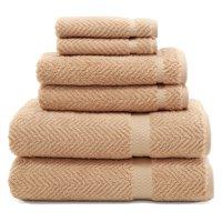 7c148c5aea08 Product Image Linum Home Textiles Herringbone 6 Piece Towel Set