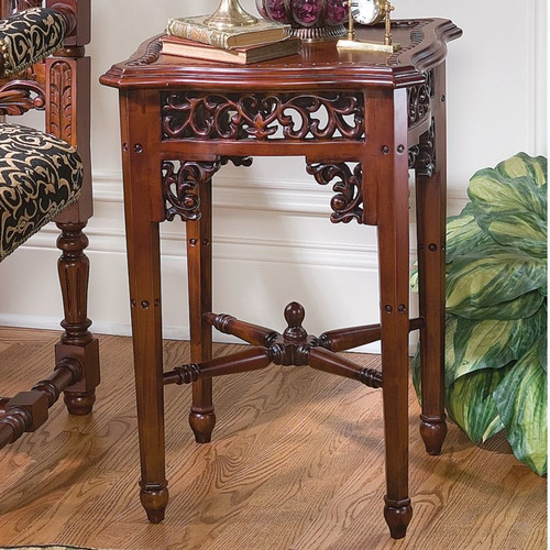 Design Toscano Saltier End Table
