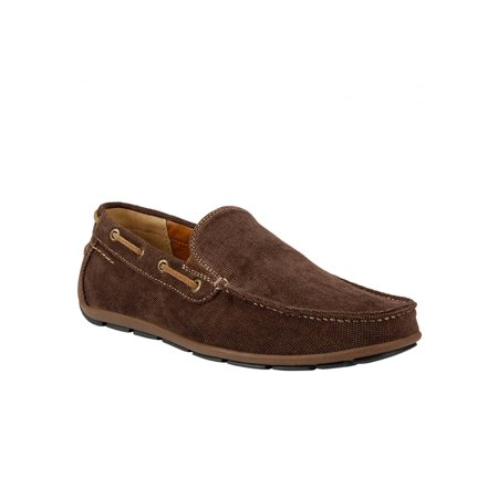 GBX Mens Casual Loafers Slip On Moc Toe Tapered Moccasin Boat Shoes Oxfords New