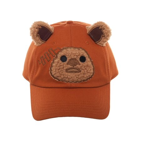 Star Wars Ewok Big Face Character Hat for Adults (Character Hats For Adults)