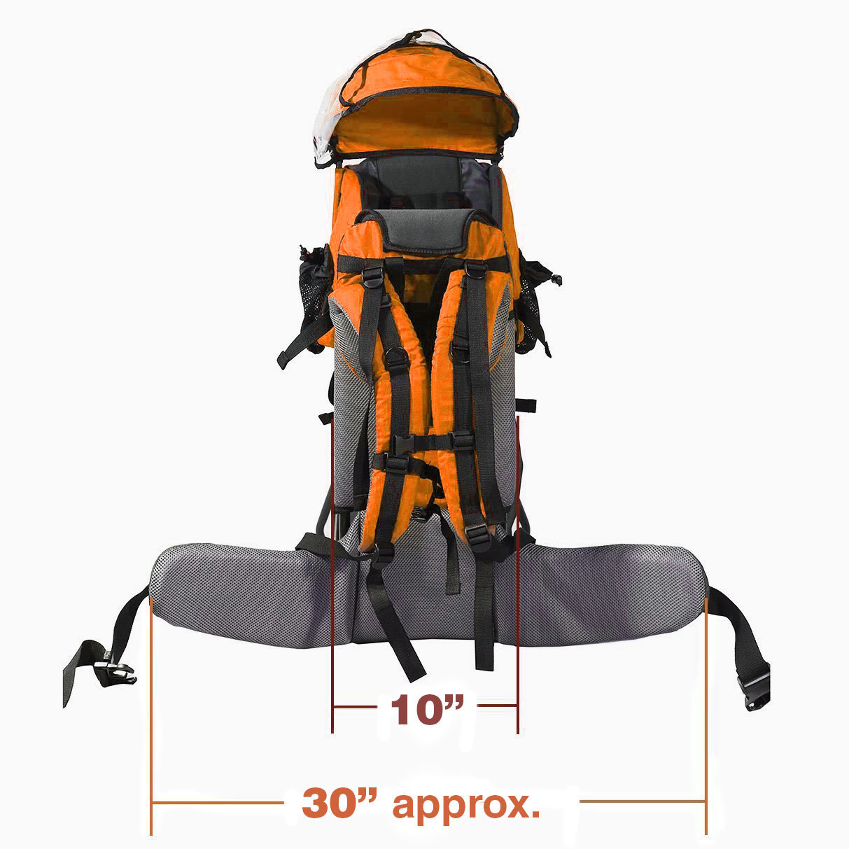cfef6029897 Clevr Cross Country Lightweight Toddler Baby Backpack Hiking Child Carrier