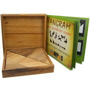 Tangram - Wooden Brain Teaser Puzzle